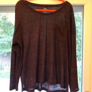Old Navy long sleeve T with front pocket. Large